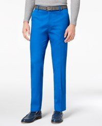 Inc International Concepts Men's Primary Blue Pants Created For Macy's Riviera Blue