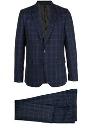 Paul Smith Checked Two Piece Suit 60