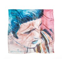 Mess Of Blues Young King Italian Silk Handkerchief