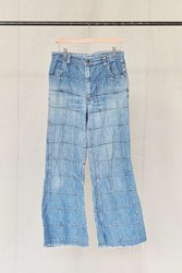 Urban Renewal Vintage Patched Flare Jean Assorted