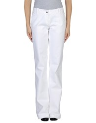 Weber Denim Denim Trousers Women White