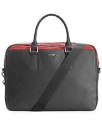 Armani Jeans Colorblock Brief Case Navy Red