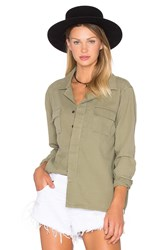 One Teaspoon Desert Ranch Button Up Army