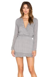 Liv Longsleeve Tunic Dress Black And White