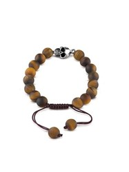 Guess Men S Tiger Eye Bracelet