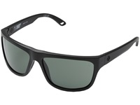 Spy Optic Angler Matte Black Happy Grey Green Fashion Sunglasses