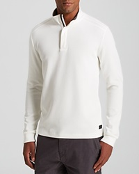 Boss Hugo Boss Piceno Knit Shoulder Detail Sweater Ivory