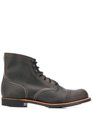 Red Wing Shoes Lace Up Ankle Boots 60