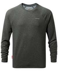 Craghoppers Nosilife Bayame Long Sleeve Shirt From Eastern Mountain Sports Black Pepper Marl