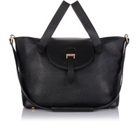 Meli Melo Meli Melo Thela Medium Tote Bag Black