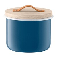 Lsa International Utility Container And Ash Lid Juniper Blue