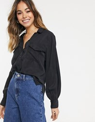 Abercrombie And Fitch Black Long Sleeve Shirt