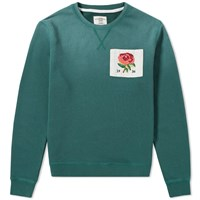 Kent And Curwen 1926 Crew Sweat Green