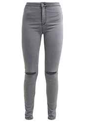 New Look Disco Moondust Slim Fit Jeans Charcoal Dark Gray