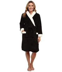P.J. Salvage Making Spirits Bright Robe Black Women's Robe