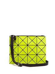 Issey Miyake Lucent Cross Body Bag Yellow Multi