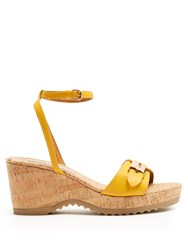 Stella Mccartney Linda Platform Sandals Yellow