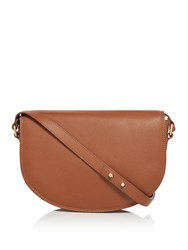 Maison De Nimes Mera Saddle Shoulder Bag Tan