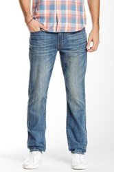 Lucky Brand 121 Heritage Slim Fit Jean 30 32' Inseam Blue