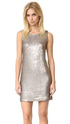 Bb Dakota Penley Sequin Shift Dress Gold