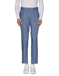 Msgm Trousers Casual Trousers Men Blue