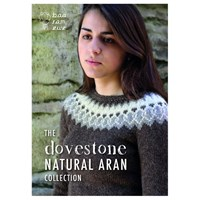 Baa Ram Ewe Dovestone Aran Collection Jumper And Accessories Knitting Patterns
