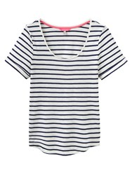 Joules Daily Stripe T Shirt Navy