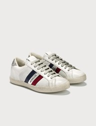 Moncler Perforated Leather Sneaker Grey