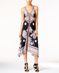 Inc International Concepts Printed Handkerchief Hem Dress Only At Macy's Maximum Paisley