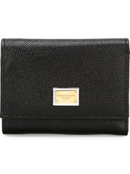 Dolce And Gabbana 'Dauphine' Wallet Black