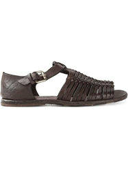 Officine Creative 'Artisan' Sandals Brown