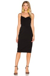 1.State Strappy Slip Dress Black