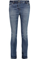 Golden Goose Carol Low Rise Straight Leg Jeans Blue