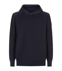 Canada Goose Ashcroft Knitted Hoodie Navy