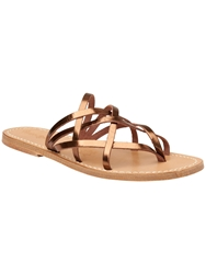 Phase Eight Maddie Leather Sandals Bronze