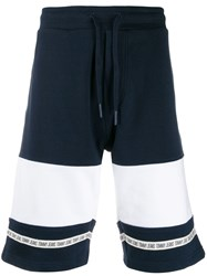 Tommy Jeans Colour Blocked Baseball Shorts Blue