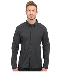 Arc'teryx Elaho Long Sleeve Shirt Magnet Men's Clothing Gray