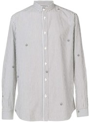 Zadig And Voltaire Striped Shirt Grey