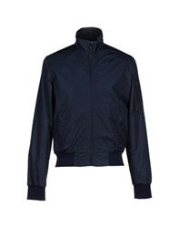 Les Copains Coats And Jackets Jackets Men Dark Blue
