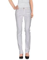 Cesare Paciotti 4Us Trousers Casual Trousers Women White