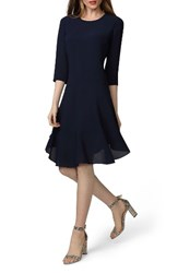 Donna Morgan Women's Crepe Fit And Flare Dress