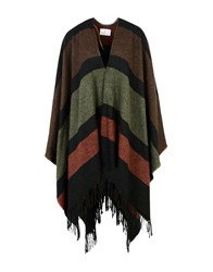 George J. Love Coats And Jackets Capes And Ponchos Brown