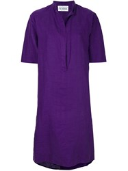 Gianfranco Ferre Vintage Short Tunic Dress Pink And Purple