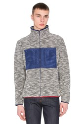Altru French Terry Funnel Neck Jacket Gray