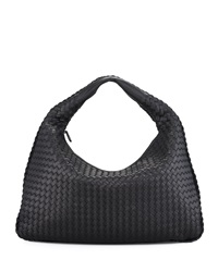 Bottega Veneta Veneta Hobo Bag Black