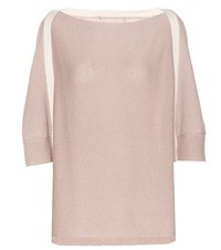 81 Hours Rae Wool And Cashmere Blend Sweater Neutrals