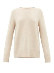 The Row Sibel Wool Blend Sweater Ivory