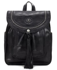 Patricia Nash Distressed Vintage Jovanna Small Backpack Black