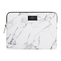 Wouf Marble Laptop Case White