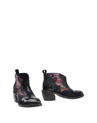 Fabi Ankle Boots Black